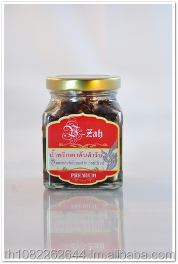 170g. per Bottle Diamond in Health Oil Red Hot Chili Paste Flavour Powder mix Herb Chili Paste