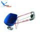 Model GT2026 agricultural manual seed / fertilizer spreader for garden and farm