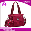 2016 Quality Ensured Dark Red Canvas Single Ladies big Shoulder Bag For Adults Daily Life Bag