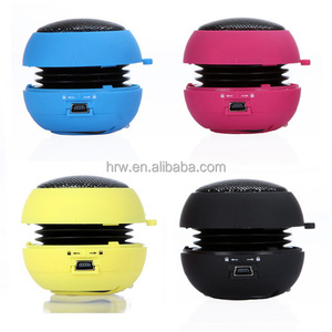 Portable mini 3.5mm audio cable for iPhone laptop mobile phone wired hamburger gadgets speaker