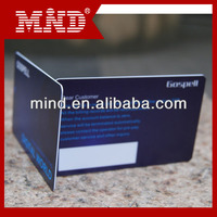 plastic card for company business card