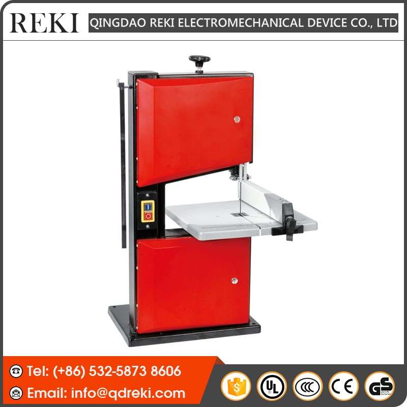 "REKI 8"" Vertical Wood Band Saw Cutting Machine Price RBS205"