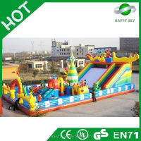 2015 Top quality Crazying inflatable amusement park,inflatable amusement water park,water parks in turkey