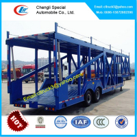 Car Carrier Trailer Car Transport Semi