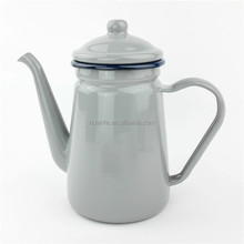 amazon best seller high quality Exported to Japan 1.1L 600ml enamel coffee pot