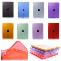New Ultra Thin Soft TPU Clear Silicone Case Cover Skin For Apple iPad Air 2