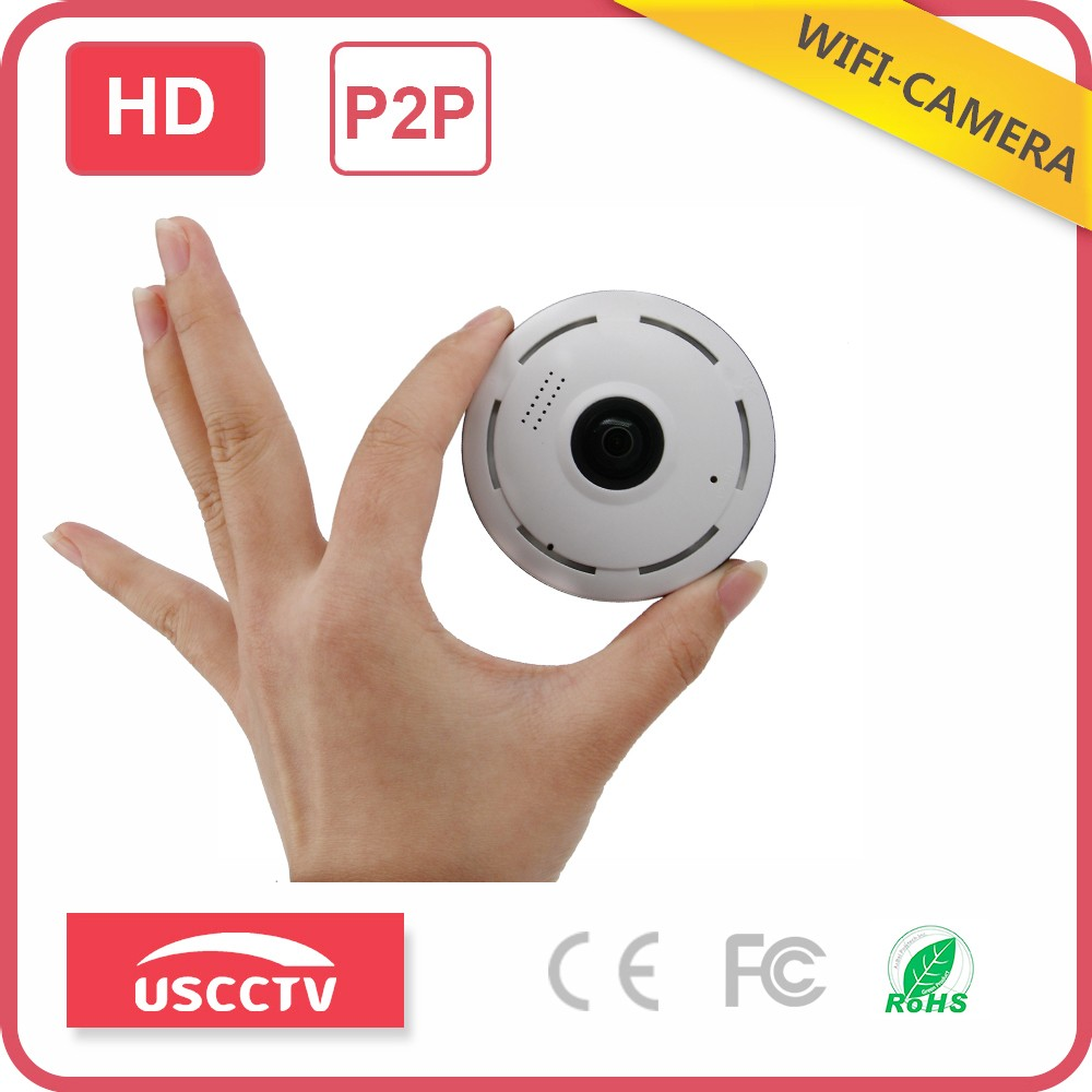 USC wireless 360 degree panoramic vr fisheye usb powered wifi smart net v380 360 wifi mini camera ip