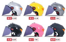 ABS Material Helmet ECE / DOT Approved Motorcycle Open Face Helmet Summer Helmet (JK-601)