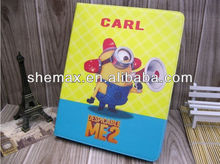 Fab options for ipad mini despicable me minion leather case