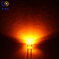 Cheap hot sale top quality 5mm flat top yellow for energy save lamp