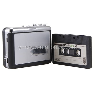 Wholesale Super USB Cassette to MP3 Converter Capture Audio Music Player Tape to PC Player