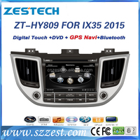 car parts auto radio car gps multimedia navigator for Hyundai Tucson 2016 car dvd player gps navigation with 3G BT