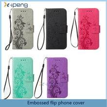 2017 Top selling products in alibaba butterfly leather phone case for NOKIA 6