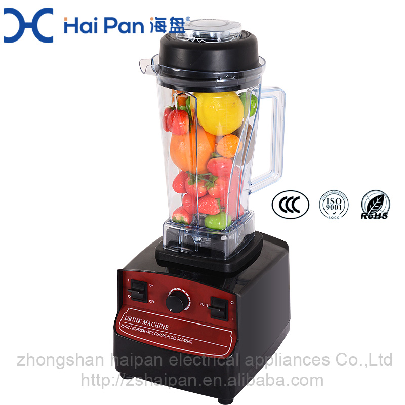 High Speed Mixer home use heavy duty TM-808 Plastic Housing Material 2L 110v 220v 1000w blender mixer 4 in 1 blender