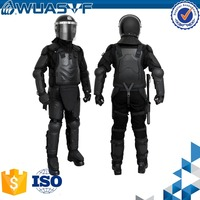 Police protective Modular Hard Shell Crowd Control Anti riot vest