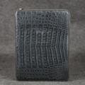Handmake Crocodile skin notebook real leather notedbook cover