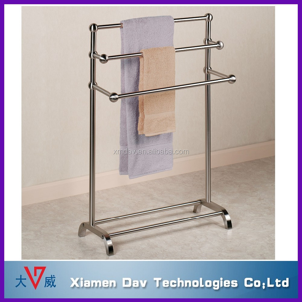 Hot Sale Bathroom Free Standing Hanging Towel Racks Buy Bathroom Hang Towel Rack Towel Racks