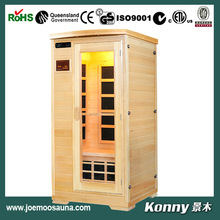 new wooden far infrared sauna room (KL-1SF)