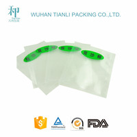 food grade plastic laminated packaging transaprent food shrink vacuum bag