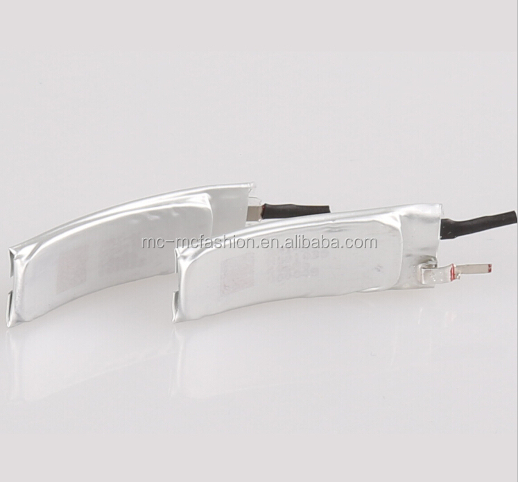 301028 3.7v 60mah wrist watch battery curved wearable device battery in stock