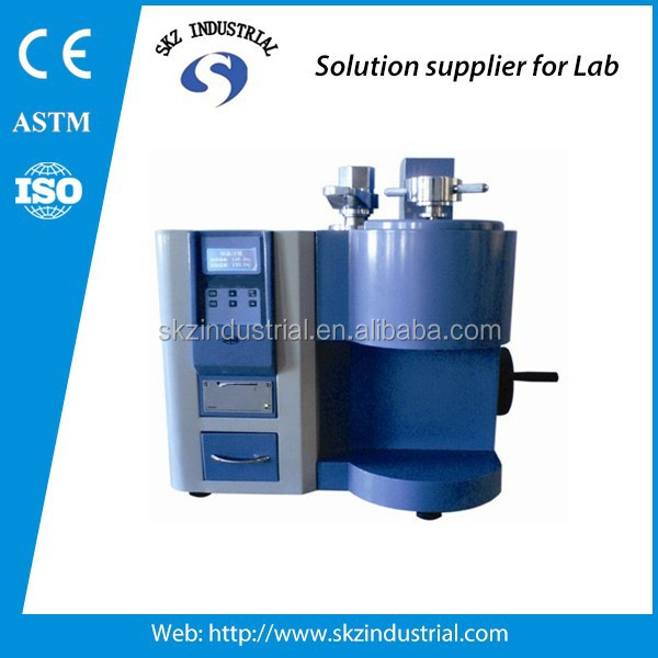 LCD mfi plastic melt flow index tester