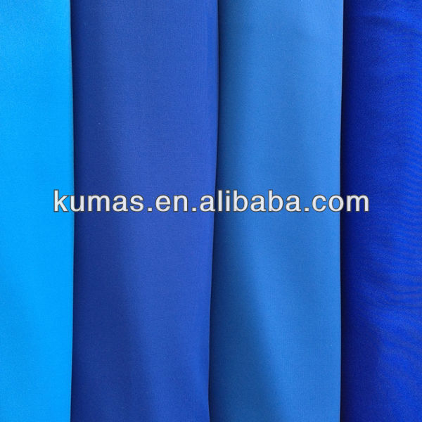 80% polyester 20% spandex fabric 4 way stretch fabric