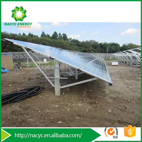 Factory Directly Supply Ground Solar Panel Brackets/Ground Support Truss System/Ground Racking System