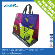 odm high quality polyester nonwoven compact reusable shopping bag manufacturer