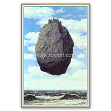 High quality masterpieces reproduction oil painting by rene magritte The Castle of The Pyrenees