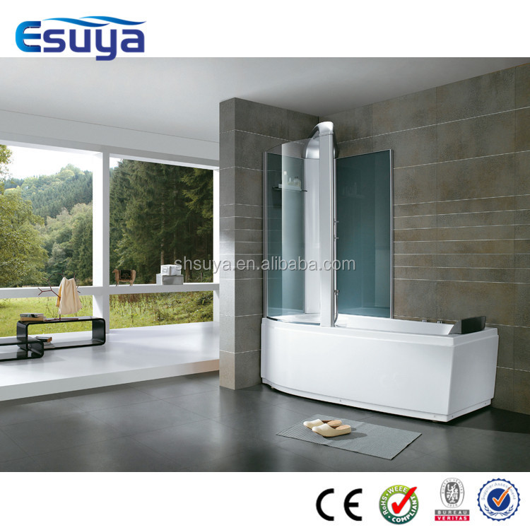 High quality portable lowes walk in bathtub with shower for Shallow tub shower combo