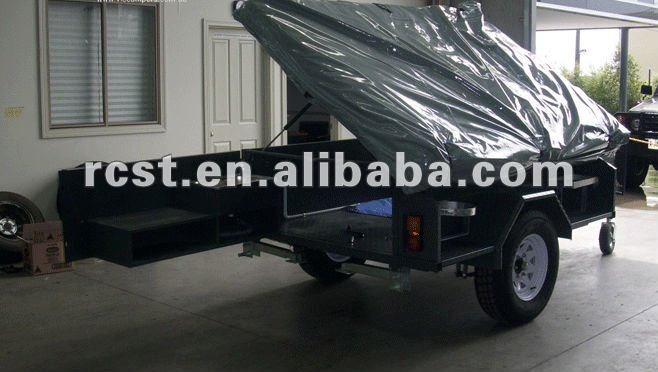 Popular soft floor off road steel camper trailer and family camping trailer