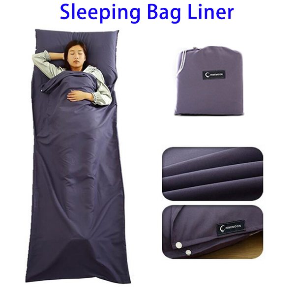 New Products Sleeping Bag Camping Outdoor, Polyester Pongee Sleeping Bag Liner Travel