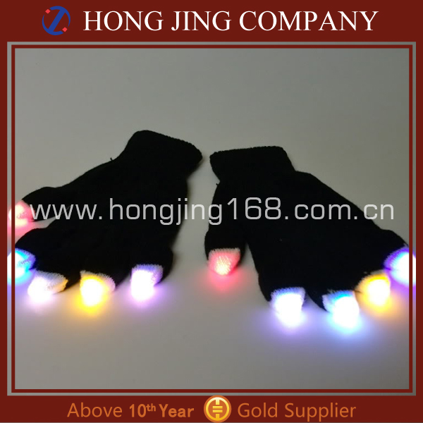 Party supply led gloves wholesale china/led gloves