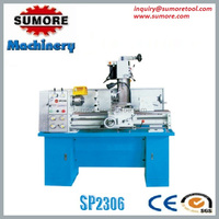 SUMORE!!! 3 in 1 lathe drilling and milling machine combination machine, lathe mill combo SP2306