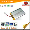 Tablet PC 3.7v 1200mah rechargeable lithium-ion battery lithium battery