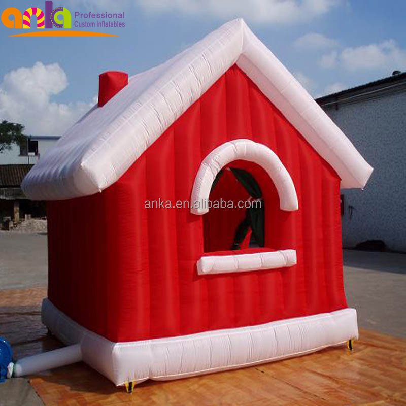 OEM design cusom giant inflatable Christmas products house for decorate