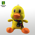 Big Yellow Duck Shape Animal Toy Filling With Polystyrene Beads Toy