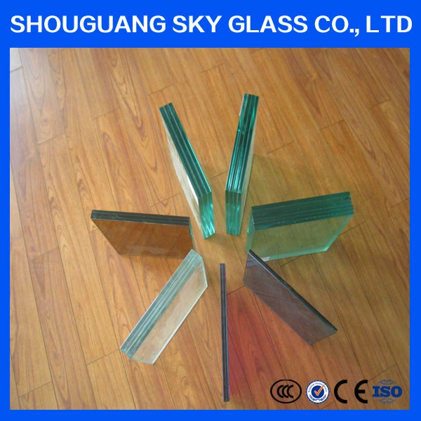 10.38mm Laminated Glass Door, elevation safety door laminated wired window building glass