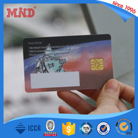 MDH329 protocal hotel key access contact smart card SLE4442