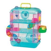 plastic pet hamster cage