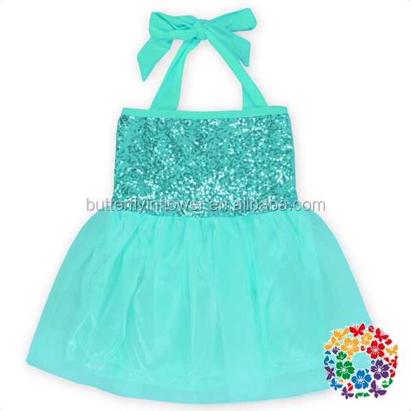 New Fashion Angel Style Baby Girl Party Dress Children Frocks Designs Kids Girls Suquin Hang
