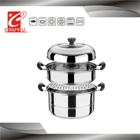 Stainless steel high quality steamer stainless hot pot casserole on sale