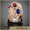 muslim wedding jewelry fashion Color opal diamond ring designs