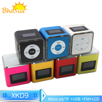 Gift Speaker Audio Mini Speaker Fm Radio Boombox Portable Subwoofer Amplifier for Home