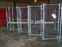 Chainlink dog kennel 5' x 15' x 6' 55*55mm mesh opening