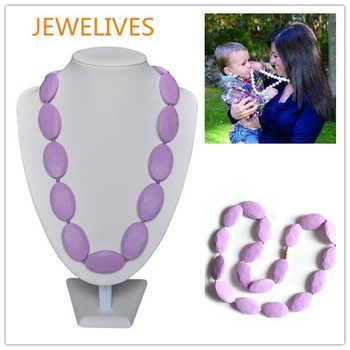 Hot selling ideals gift soft baby silicone chew beads