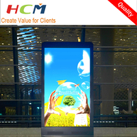 integrated led advertise machine, mobile machine led sign display