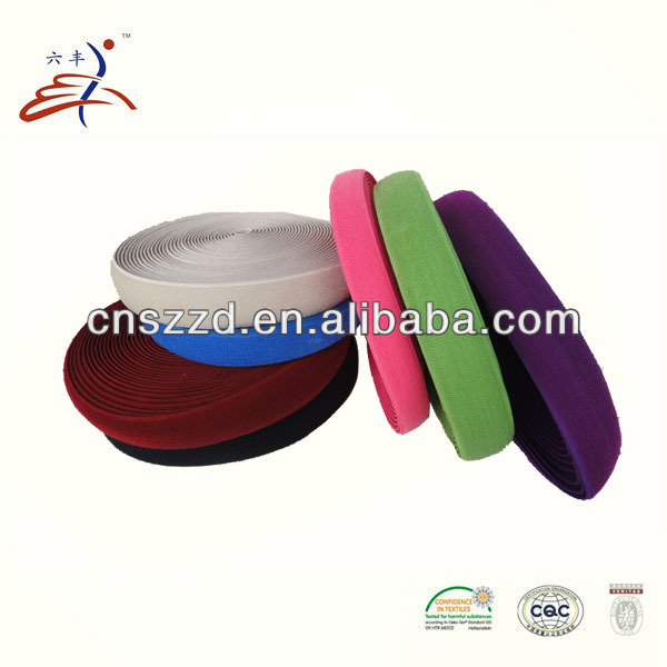 colored plush elastic band