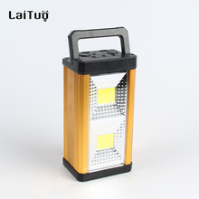 Rechargeable Car Charge water-proof shock resistant durable rechargeable camping lantern with fm radio