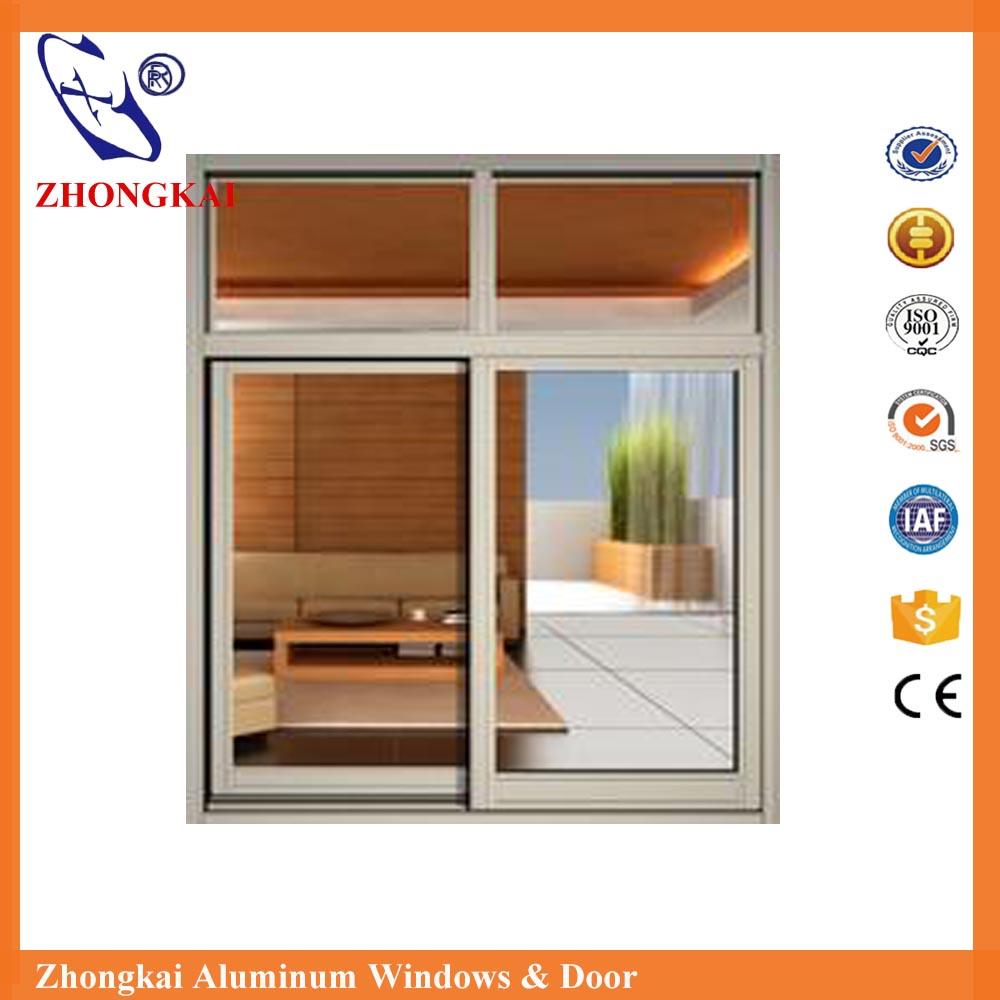 Office Interior Aluminum Frame Glass Sliding Reception Window Buy